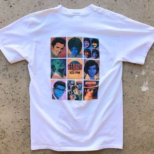 RARE Vintage 1980s K-Earth 101 The Beatles T-Shirt
